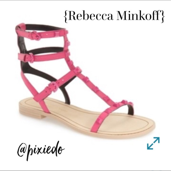 3ae30965f93 Georgina Gladiator Sandals. NWT. Rebecca Minkoff